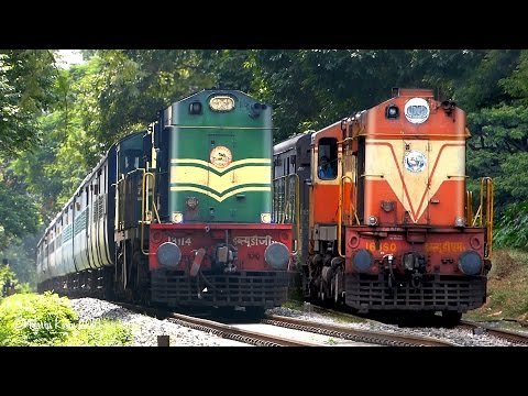 DOWN SOUTH Trains from Bangalore  : Indian Railways