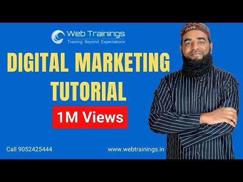 Digital Marketing Tutorial for Beginners - Online Marketing Course - Web Trainings Academy