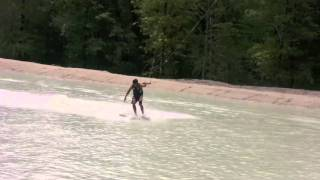 John Phillips and Ty Morlang wakeskate