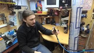 Обучение Tig сварке для новичков  Газовая горелка ч2