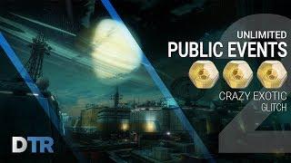 Destiny 2: Public Event Glitch & Easy Exotic Farm