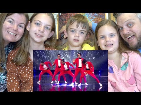 MJ5 Dance Champions | Family Reaction