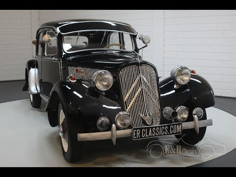 Citroën Traction Avant 11BL Sport 1950 -VIDEO- www.ERclassics.com