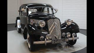 Citroën Traction Avant 11BL Sport 1950 -VIDEO- www.ERclassics.com