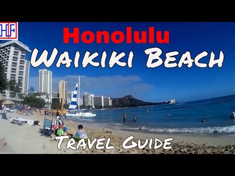 Honolulu | Waikiki Beach and Area | Travel Guide | Episode# 6