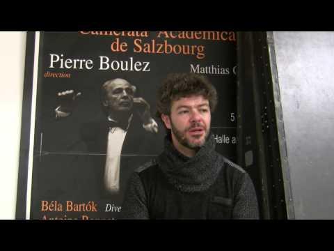 Pablo Heras-Casado on Pierre Boulez