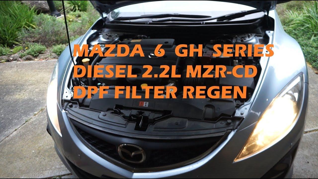 mazda 6 gh diesel dpf filter regeneration youtube. Black Bedroom Furniture Sets. Home Design Ideas