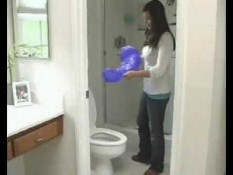 plungemax the no mess sanitary plunger unclogs toilet real video youtube. Black Bedroom Furniture Sets. Home Design Ideas