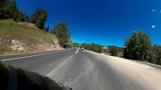 insane honda goldwing f6b acceleration around my riding buddies harleys