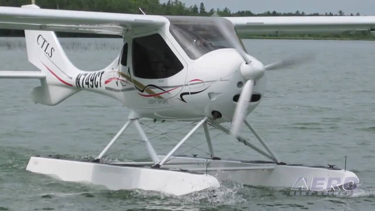 Light Sport For Sale Aero Tv Amphibious Light Sport Flight Design S Ctls On Floats