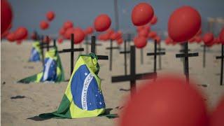 Brazil's coronavirus death toll surpasses 100,000