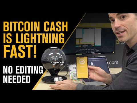 Roger Ver shows how fast Bitcoin Cash really is!