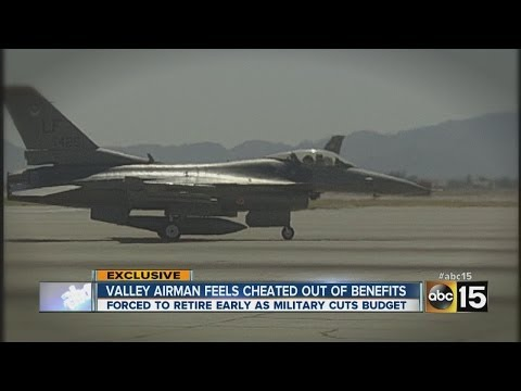 Valley airman says he's being forced to retire early - YouTube