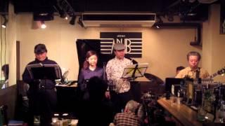 トワ・エ・モアの「ある日突然」 2014年3月1日 パピーADLIBライブ.