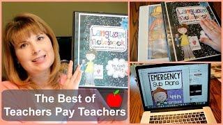 🍎 The Best of Teachers Pay Teachers | Tina Bietler