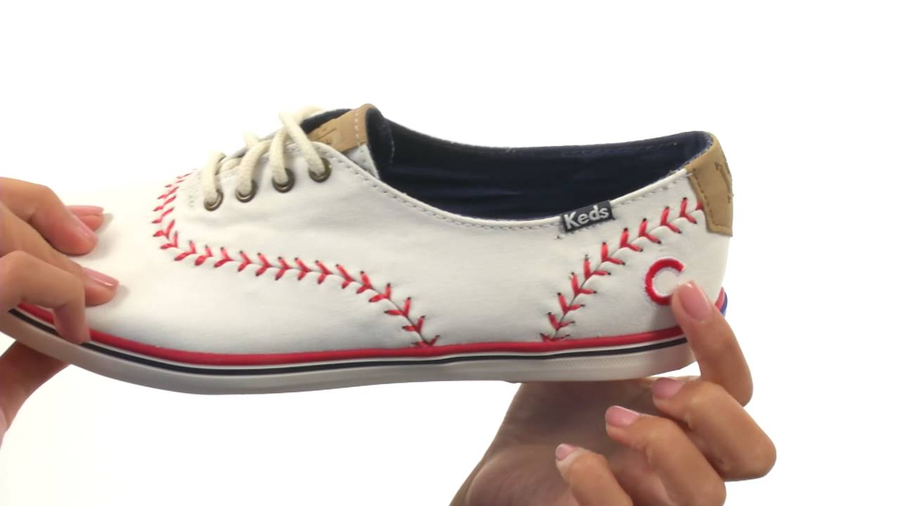 4f06de7bfa691 Keds Champion MLB Pennant - Cubs SKU 8753728 - YouTube