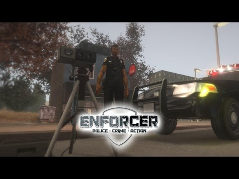 Enforcer: Police Crime Action - Day 3 - Speed Radar |