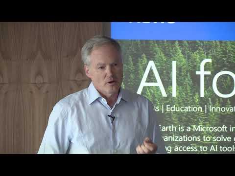 Eric Horvitz discusses AI for Earth announcement