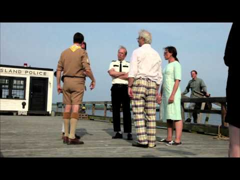 MOONRISE KINGDOM  On location with Bob Balaban
