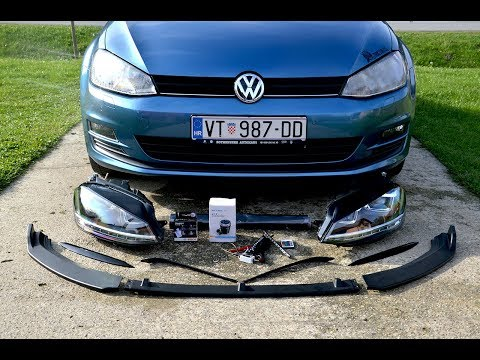 New STUFF For My VW Golf 7 / Part 1