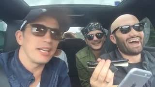 Mihai Bendeac & Flick DL. RIMA - Caterinca pe LIVE din Masina - Trafic Greu - AUGUST 2016