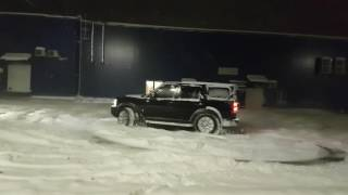 Немного покружил. Land Rover Discovery 3 4.4