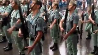 Desfile militar del 12/10/2016. Día de la Hispanidad.