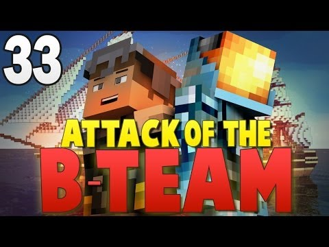 Minecraft Attack of the B-Team #33 | FLYING SHIPS MOD! - Minecraft Mod Pack Survival