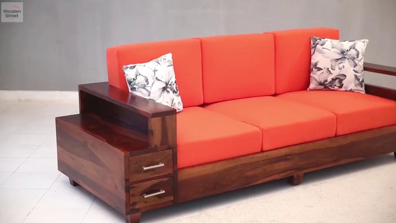Three seater wooden sofa designs brokeasshome
