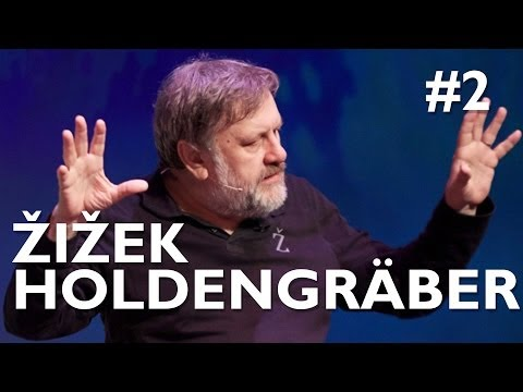 "Slavoj Žižek + Paul Holdengräber ""Voyeurism and digital identity"" - International Authors' Stage"