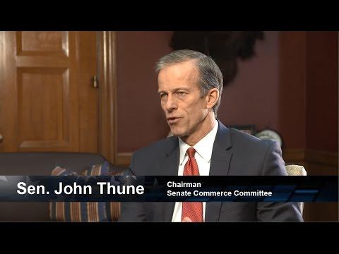 One on One with Senate Commerce Committee Chairman John Thune (R-SD)