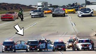 Best STREET RACERS vs. COPS Compilation  Cops Illegally Blockade! *Fail & Win*