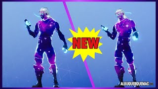 FORTNITE - NOVO GESTO COM A SKIN GALAXY! NUEVO 🤳🏻 FORTNITE DE OMOTE