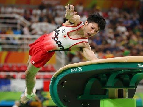 【体操】ケガで済んで良かったー!奇跡のリ・シャオペンは内村航平の集大成!【跳馬】kouhei uchimura  Vault