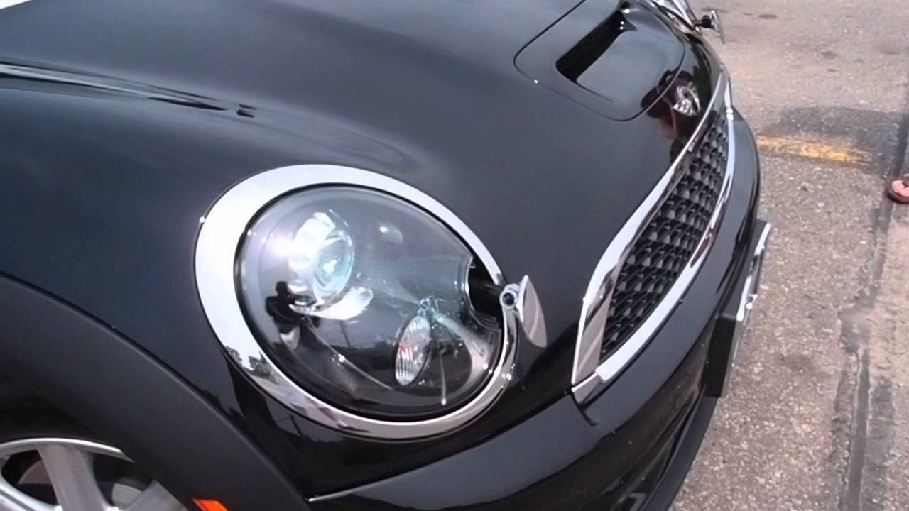 2017 Mini Headlight Washer