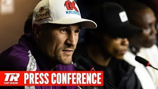 Press Conference | #KovalevYarde