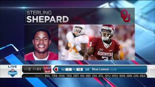 2016 NFL Draft Rd 2 Pk 40 | NY Giants Select WR Sterling Shepard