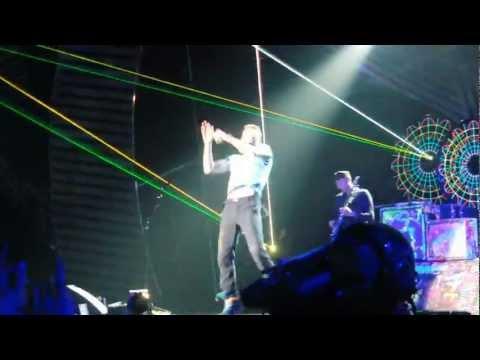 Coldplay MTV EMA Belfast 2011