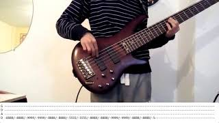 Royal blood lights out - Bass cover with tab