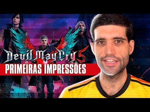 Devil May Cry 5 primeiras impressões, o jogo está bom ou é mais uma decepção? thumbnail