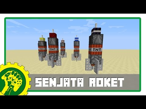 Minecraft Tutorial - Membuat Senjata Roket
