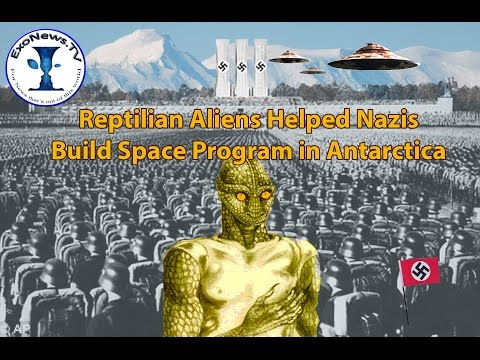 Reptilian Aliens Helped Germans Establish...