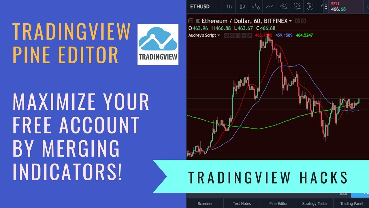 Tradingview's Pine Editor Hacks to Merge Indicators, Save Spots and  Maximise Your Free Account!