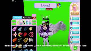 Trading my Halloween Halo! | Royale High (Roblox) | Trade Offering Video |