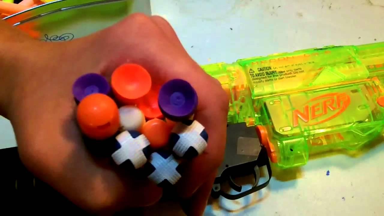 Nerf Grenade launcher fun (m203) - YouTube