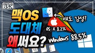 맥OS 장단점 분석 : 도대체 맥(Mac)은 왜 써요?…