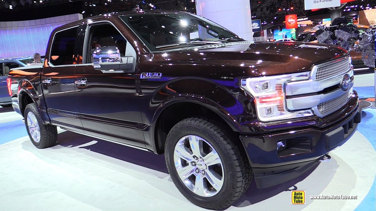 2018 ford f150 platinum exterior and interior walkaround 2017 new york auto show