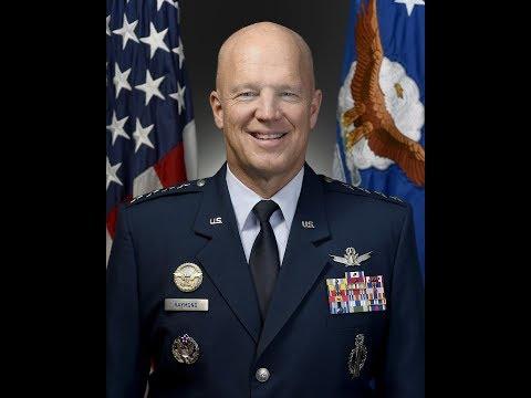 """Gen. John W. """"Jay"""" Raymond"""