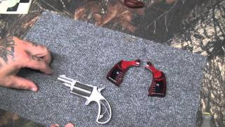 custom grips for north american arms revolver with the yankee cowboy