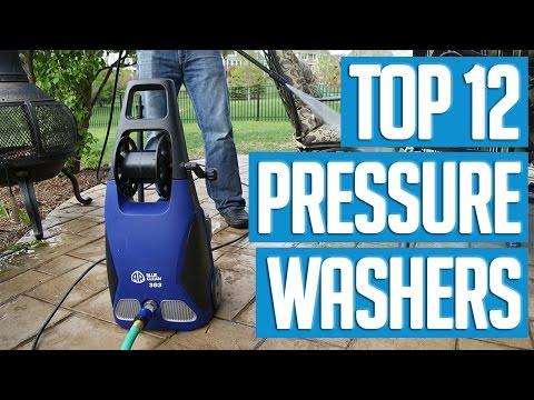 12 Best Pressure Washers 2017